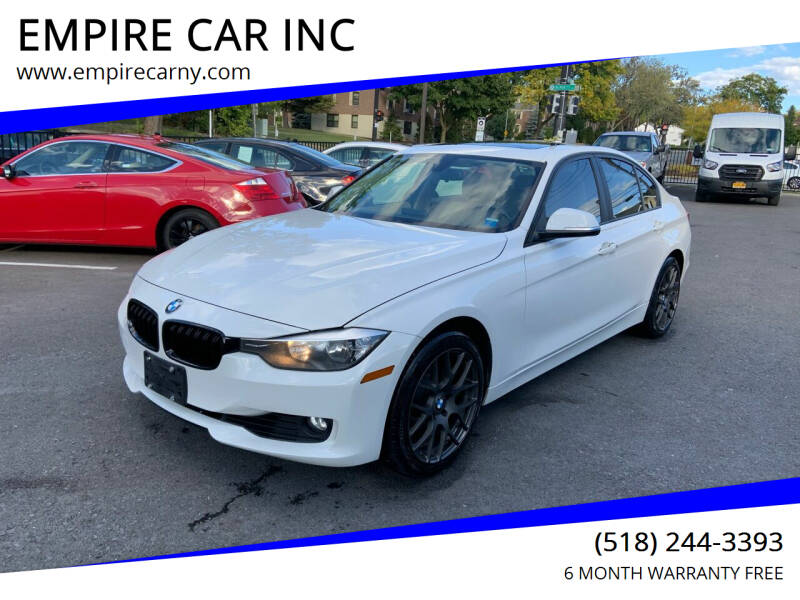 2013 BMW 3 Series for sale at EMPIRE CAR INC in Troy NY