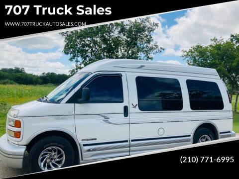 1997 GMC Savana Cargo for sale at 707 Truck Sales in San Antonio TX