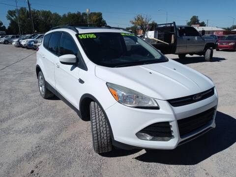 2013 Ford Escape for sale at Canyon View Auto Sales in Cedar City UT