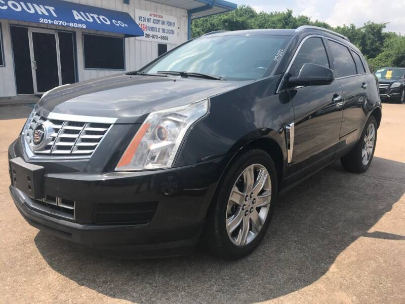 2015 Cadillac SRX for sale at Discount Auto Company in Houston TX