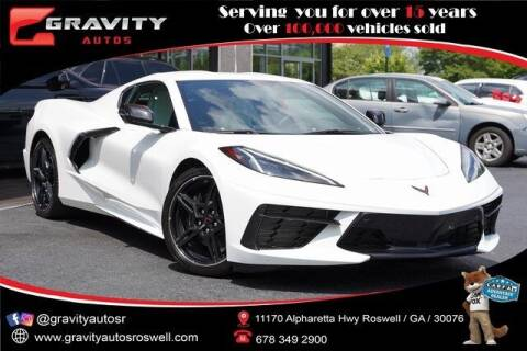 2020 Chevrolet Corvette for sale at Gravity Autos Roswell in Roswell GA