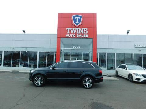 2015 Audi Q7 for sale at Twins Auto Sales Inc Redford 1 in Redford MI