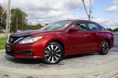 2018 Nissan Altima for sale at Platinum Motors LLC in Heath OH