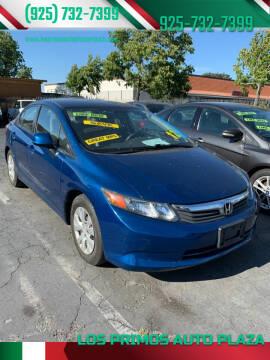 2012 Honda Civic for sale at Los Primos Auto Plaza in Antioch CA