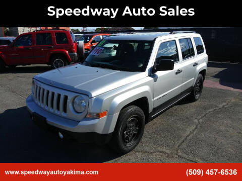 2013 Jeep Patriot for sale at Speedway Auto Sales in Yakima WA