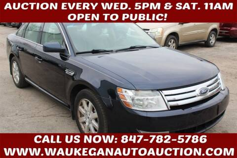 2009 Ford Taurus for sale at Waukegan Auto Auction in Waukegan IL