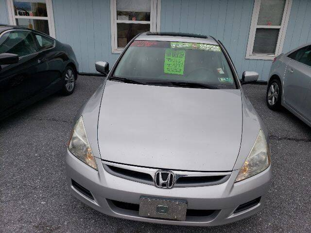 2007 Honda Accord for sale at The Back Lot in Lebanon PA