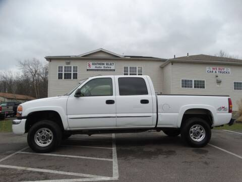 2003 GMC Sierra 2500HD for sale at Cj king of car loans/JJ's Best Auto Sales in Troy MI