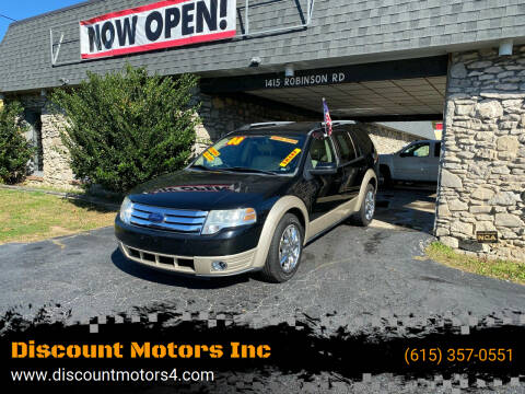 2008 Ford Taurus X for sale at Discount Motors Inc in Old Hickory TN