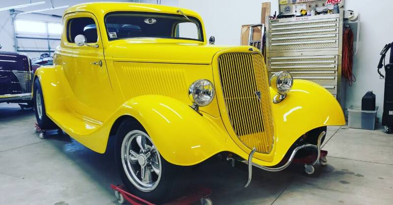 1934 Ford 3 Window Coupe  for sale at Midwest Classic Car in Belle Plaine MN