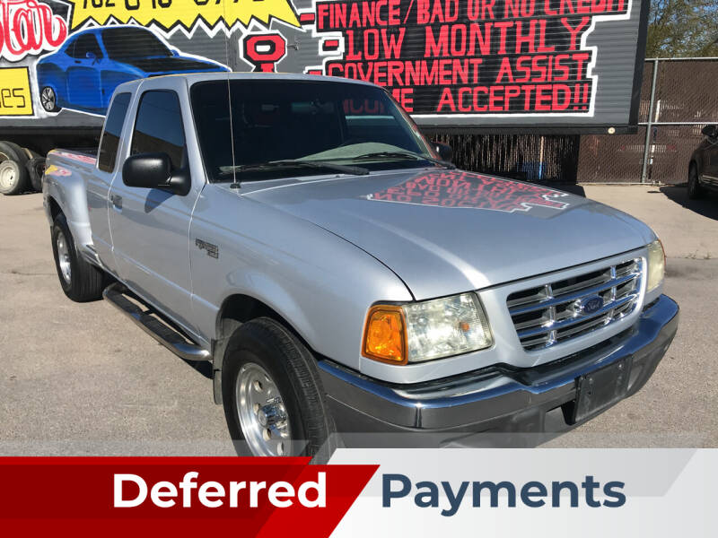 2002 Ford Ranger for sale at Rock Star Auto Sales in Las Vegas NV