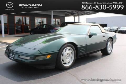 1994 Chevrolet Corvette for sale at Bening Mazda in Cape Girardeau MO
