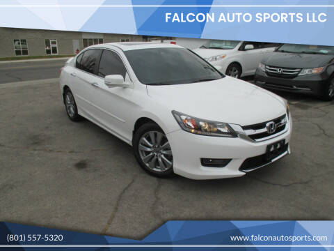 2014 Honda Accord for sale at Falcon Auto Sports LLC in Murray UT