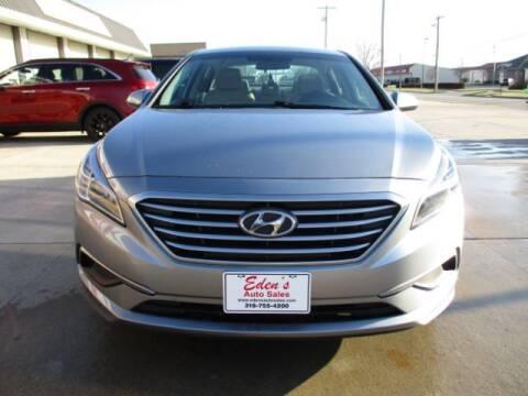 2017 Hyundai Sonata for sale at Eden's Auto Sales in Valley Center KS