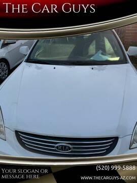 2008 Kia Optima for sale at The Car Guys in Tucson AZ