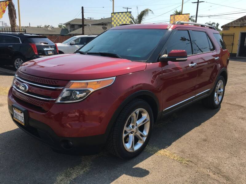 2014 Ford Explorer for sale at JR'S AUTO SALES in Pacoima CA
