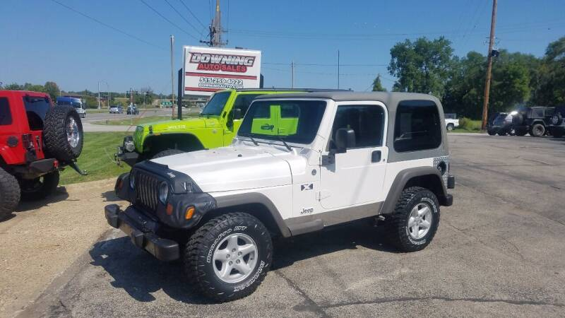 2006 Jeep Wrangler for sale at Downing Auto Sales in Des Moines IA