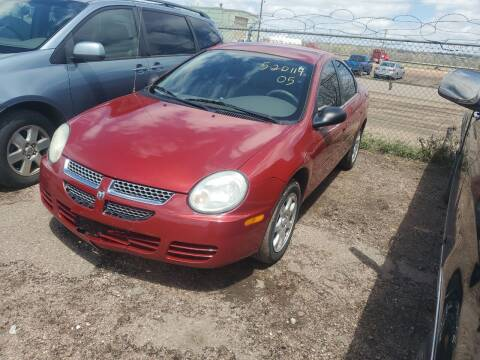 2005 Dodge Neon for sale at PYRAMID MOTORS - Fountain Lot in Fountain CO