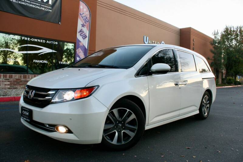 2014 Honda Odyssey for sale at CK Motors in Murrieta CA