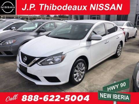 2017 Nissan Sentra for sale at J P Thibodeaux Used Cars in New Iberia LA
