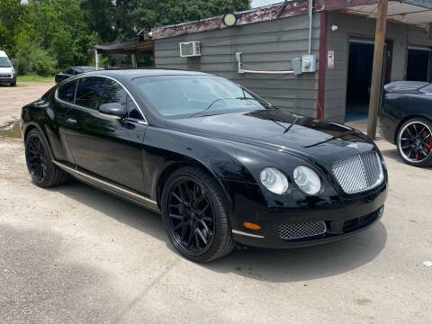 2005 Bentley Continental for sale at Texas Luxury Auto in Houston TX