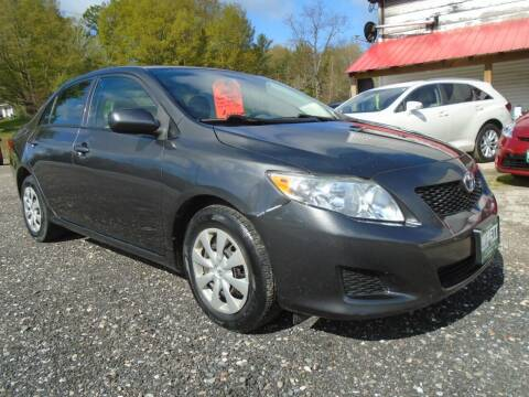 2009 Toyota Corolla for sale at Wimett Trading Company in Leicester VT