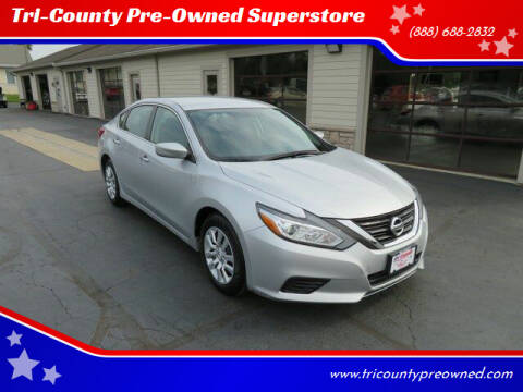 2016 Nissan Altima for sale at Tri-County Pre-Owned Superstore in Reynoldsburg OH