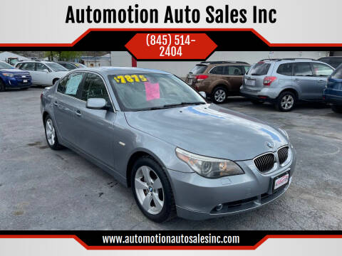 2007 BMW 5 Series for sale at Automotion Auto Sales Inc in Kingston NY