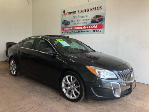2016 Buick Regal for sale at Antonio's Auto Sales in South Houston TX