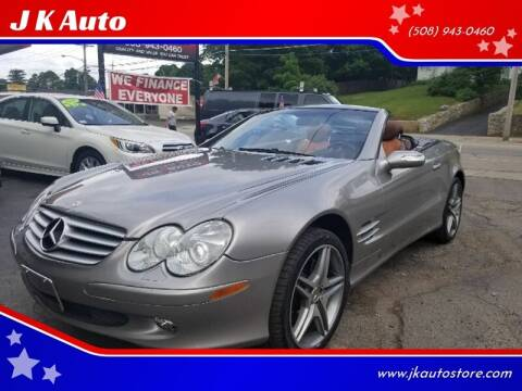 2007 Mercedes-Benz SL-Class for sale at Webster Auto Sales in Webster MA