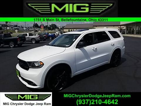 2016 Dodge Durango for sale at MIG Chrysler Dodge Jeep Ram in Bellefontaine OH