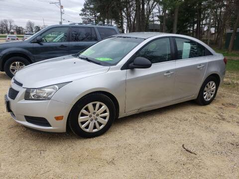2011 Chevrolet Cruze for sale at Northwoods Auto & Truck Sales in Machesney Park IL