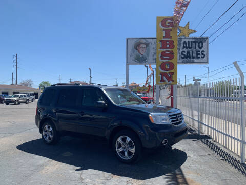 2012 Honda Pilot for sale at Robert B Gibson Auto Sales INC in Albuquerque NM