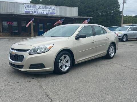 2015 Chevrolet Malibu for sale at Greenbrier Auto Sales in Greenbrier AR