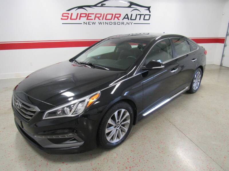 2017 Hyundai Sonata for sale at Superior Auto Sales in New Windsor NY