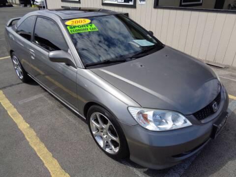 2005 Honda Civic for sale at BBL Auto Sales in Yakima WA