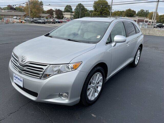 2010 Toyota Venza for sale at MATHEWS FORD in Marion OH