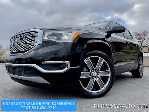 2017 GMC Acadia for sale at TJ Chapman Auto in Salt Lake City UT