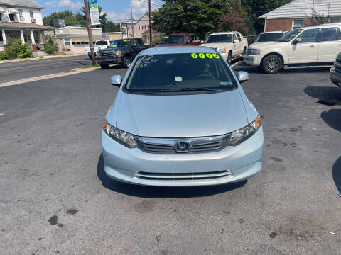 2012 Honda Civic for sale at Roy's Auto Sales in Harrisburg PA