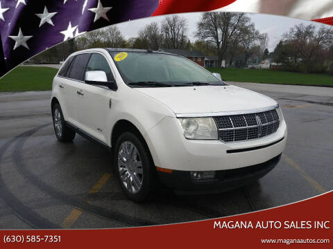 2010 Lincoln MKX for sale at Magana Auto Sales Inc in Aurora IL
