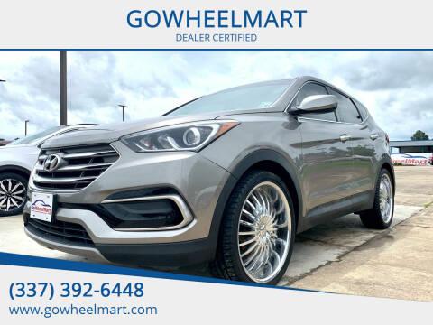 2017 Hyundai Santa Fe Sport for sale at GOWHEELMART in Leesville LA