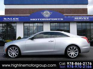 2016 Cadillac ATS for sale at Highline Group Motorsports in Lowell MA
