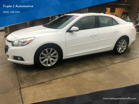 2015 Chevrolet Malibu for sale at Triple J Automotive in Erwin TN