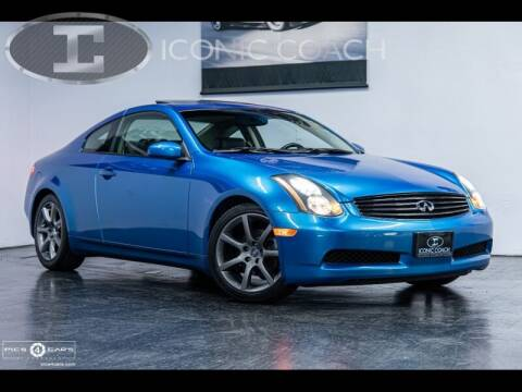 2003 Infiniti G35 for sale at Iconic Coach in San Diego CA