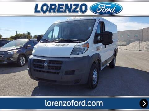 2016 RAM ProMaster Cargo for sale at Lorenzo Ford in Homestead FL