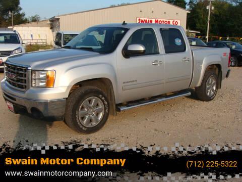 2013 GMC Sierra 1500 for sale at Swain Motor Company in Cherokee IA