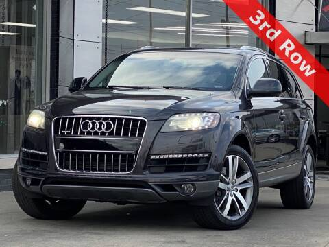 2012 Audi Q7 for sale at Carmel Motors in Indianapolis IN