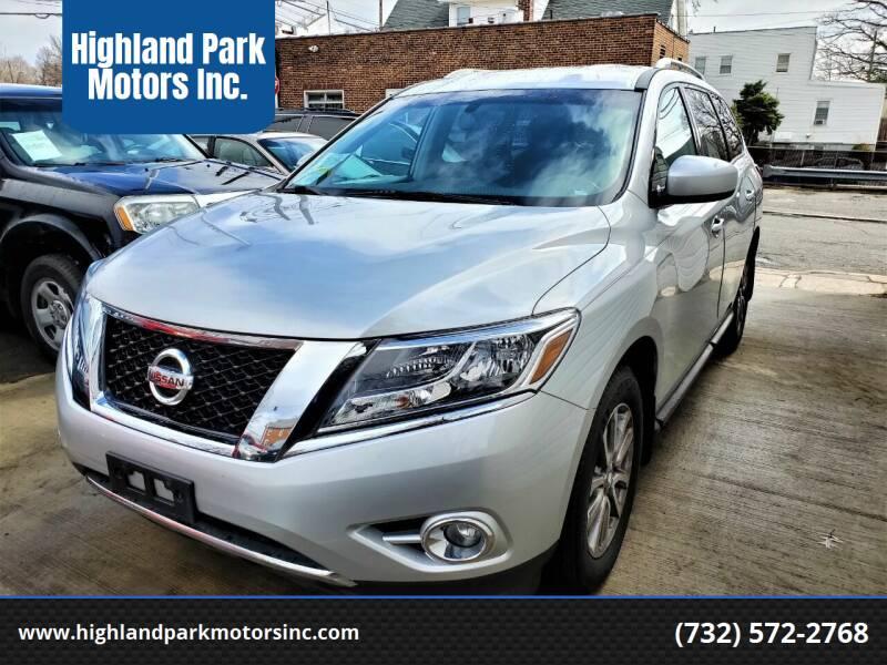 2016 Nissan Pathfinder for sale at Highland Park Motors Inc. in Highland Park NJ