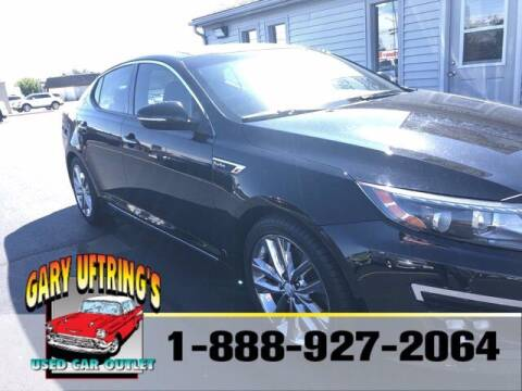 2015 Kia Optima for sale at Gary Uftring's Used Car Outlet in Washington IL