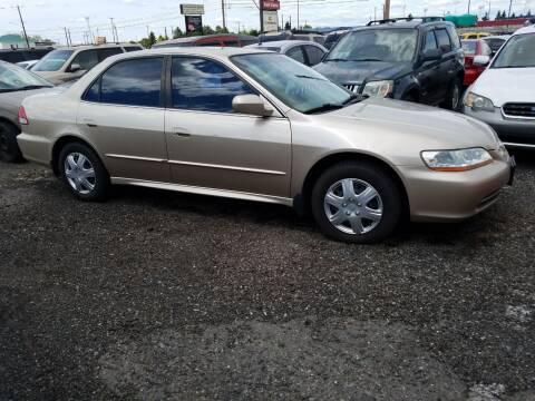 2001 Honda Accord for sale at 2 Way Auto Sales in Spokane Valley WA